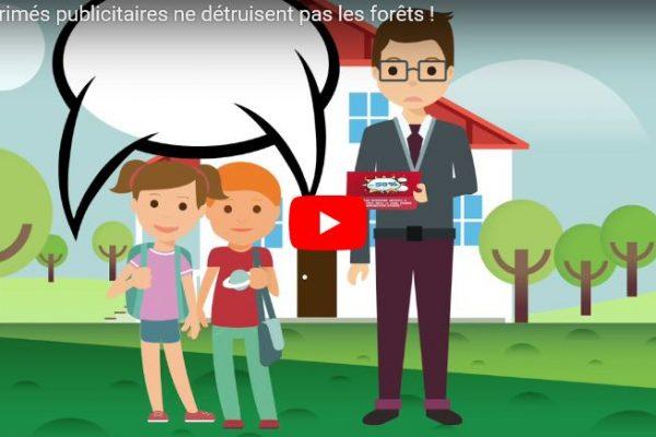 Les imprimés publicitaires ne détruisent pas les forêts !
