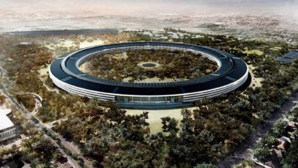 Apples newest campus includes 9,000 trees!