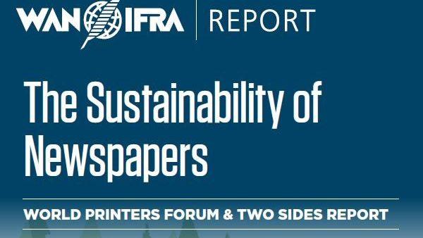 Nouveau rapport sur la durabilité des journaux imprimés