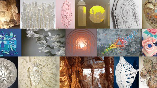 Le matériau papier, source d'inspiration pour les créateurs