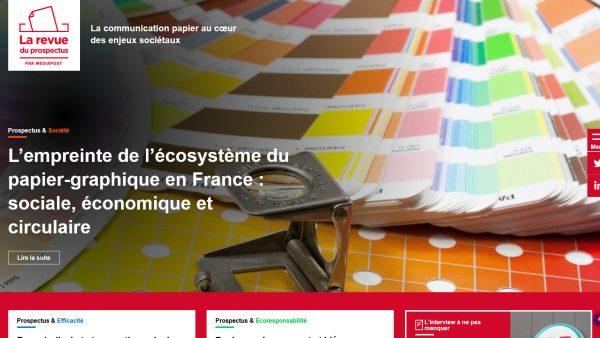 Mediapost lance « La revue du prospectus » pour répondre à toutes vos questions sur l'imprimé publicitaire