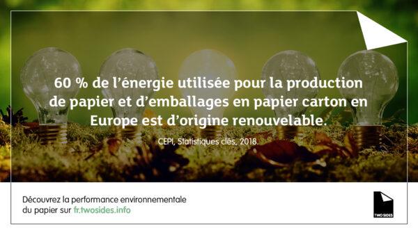 La performance environnementale du papier #4