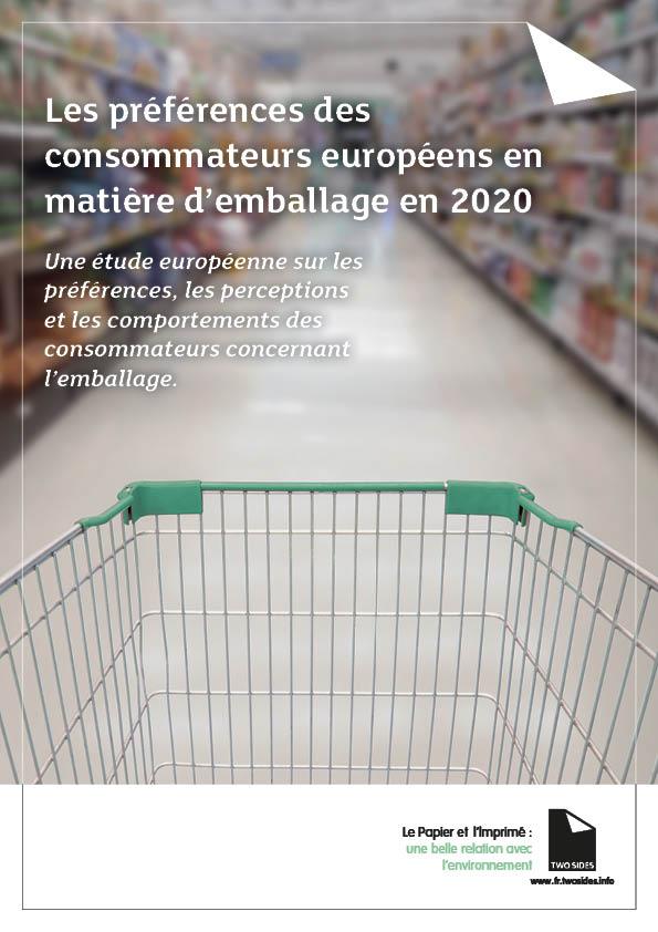 Les préférence du consommateur européenn en matière d'emballage